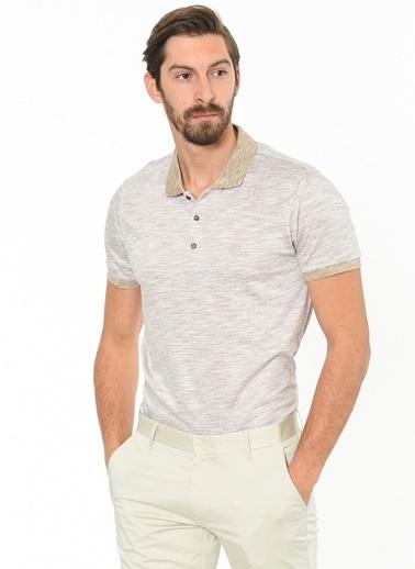 Beymen Business Polo Yaka Tişört Bej